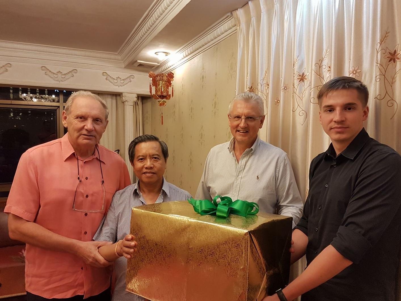 Встреча представителей Общества с Президентом ЛНДР Тюммали Сайнясон