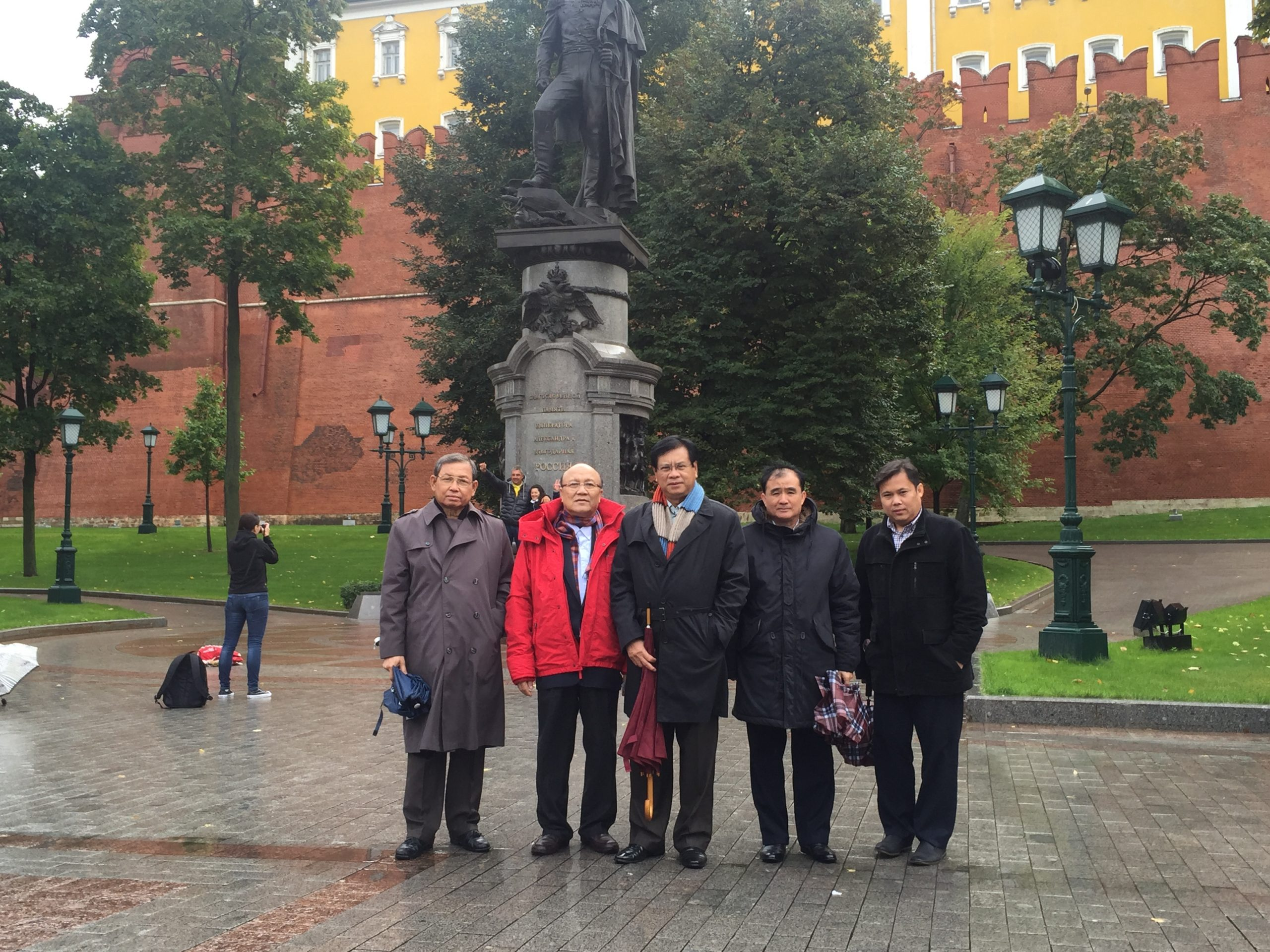 Посещение Красной площади и музеев Московского Кремля