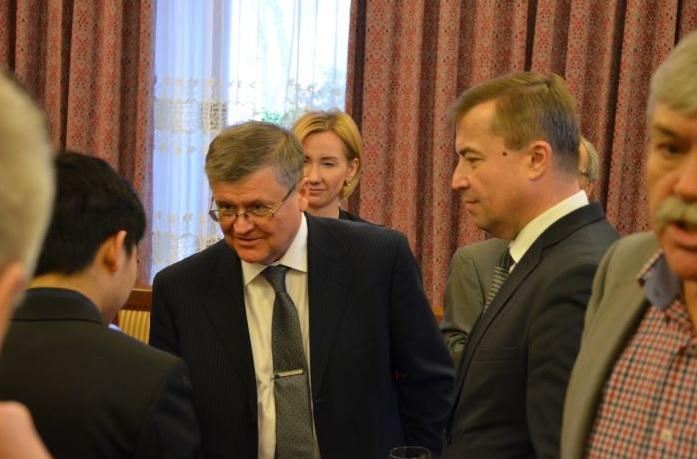 Новогодний прием в Посольстве Лаоса в Москве